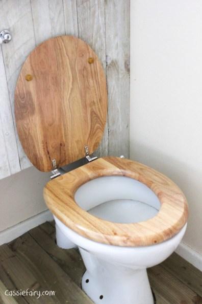 eco friendly rubberwood toilet seat-3