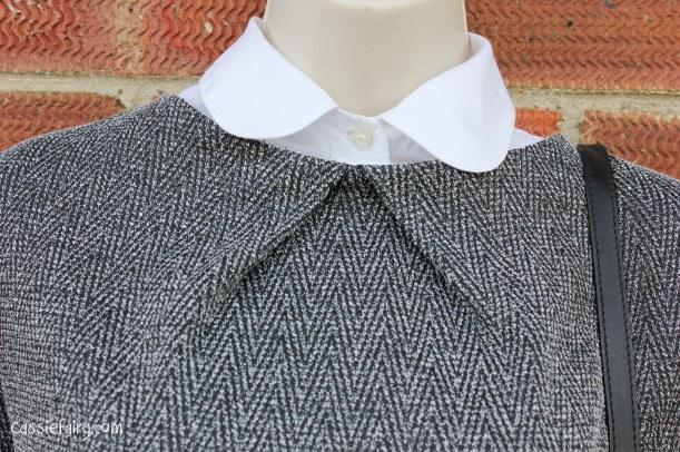 David Emanuel tweed dress styled 4 ways-10