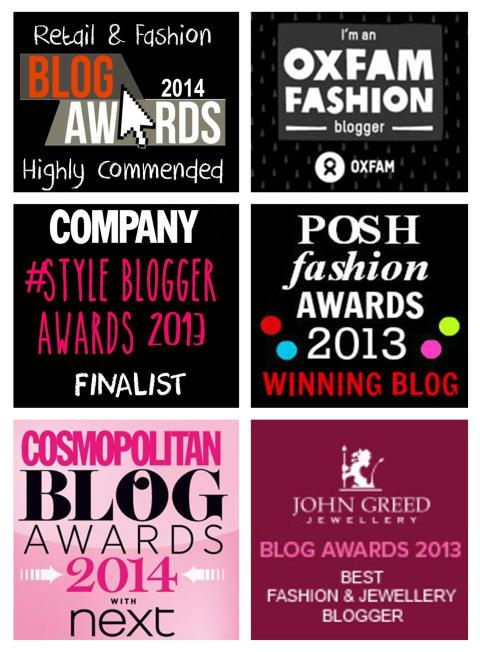 blog awards widget