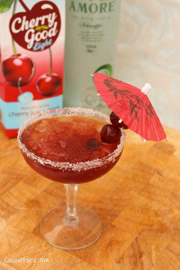 cherry apple juice cocktail recipe