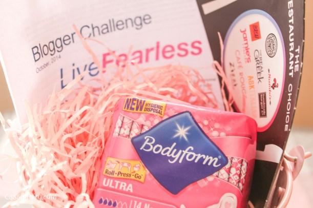 Live Fearless bodyform challenge-3