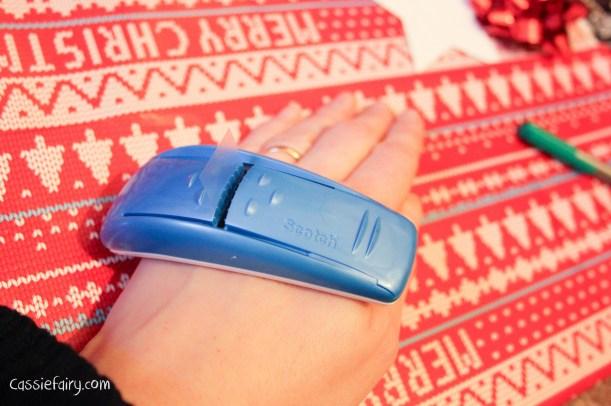 DIY christmas festive gift wrapping-3