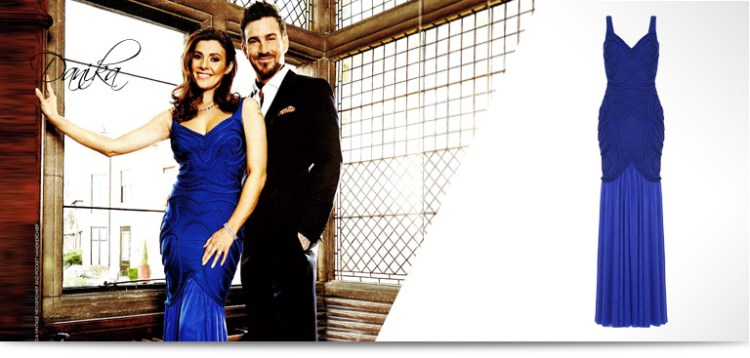kym marsh dress in OK magazine