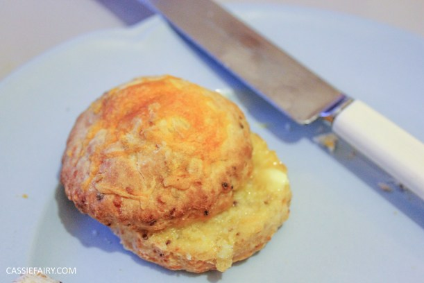 simple cheese and mustard scone recipe for afternoon tea_-6