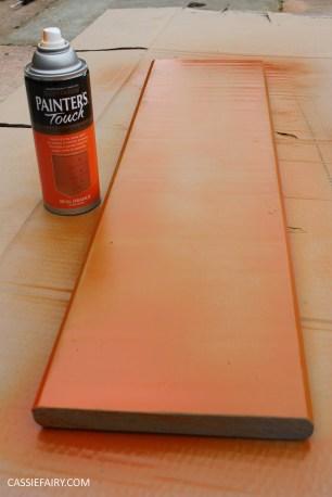 diy furniture makeover project - desk and shelf-11