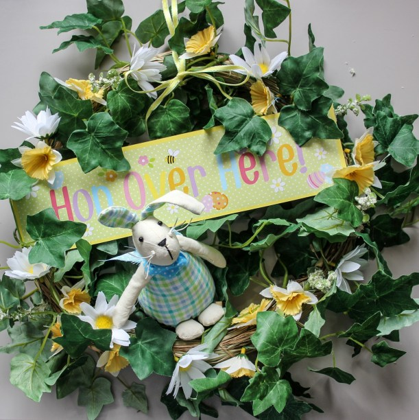 diy spring wreath by Cassiefairy step 5