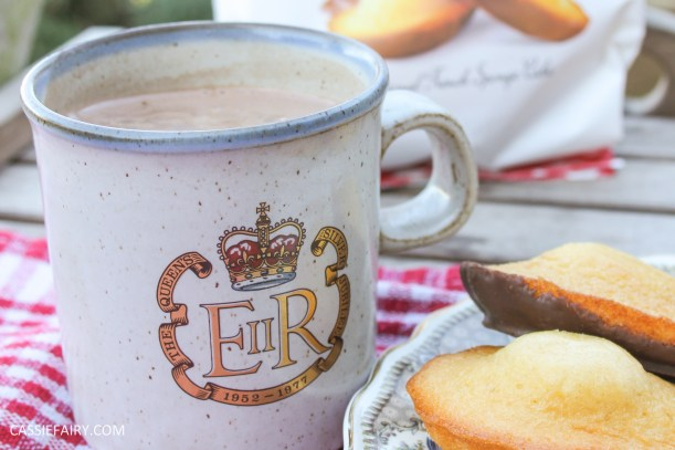 my favourite mug with royal crest