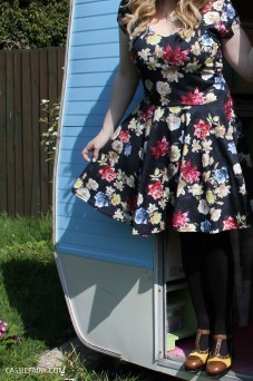 boohoo floral dress
