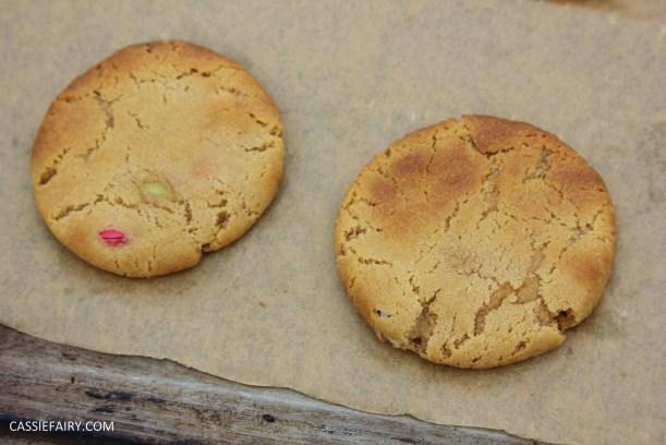 cassiefairy pieday friday blog recipe chocolate smarties cookies diy-5