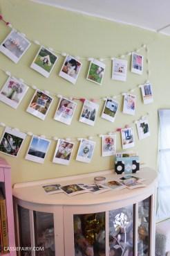 DIY Polaroid Bunting