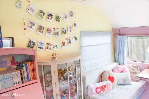 diy polariod photo wall display decoration using polabox-24