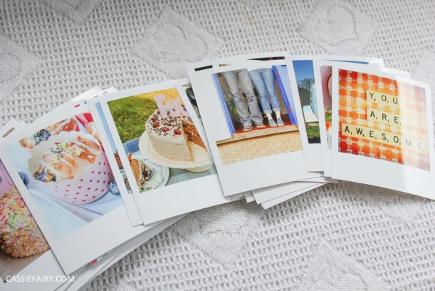 diy polariod photo wall display decoration using polabox-3