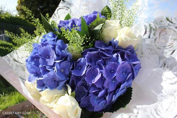 flower bouquet inspiration blue hydrangea and rose_-5