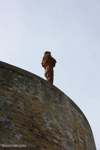 Antony Gormley LAND art exhibition sculpture for the landmark trust-13