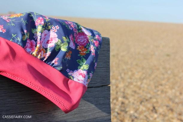 DIY design your own swimwear floral tankini-10