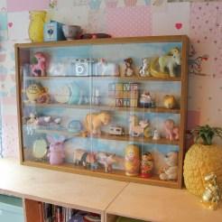 DIY Display Cabinet Makeover