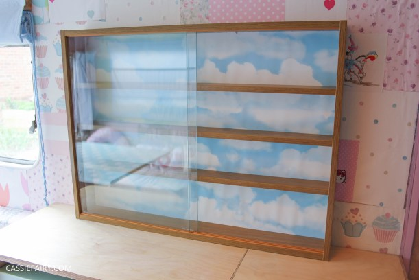 diy display cabinet makeover for vintage caravan_-9