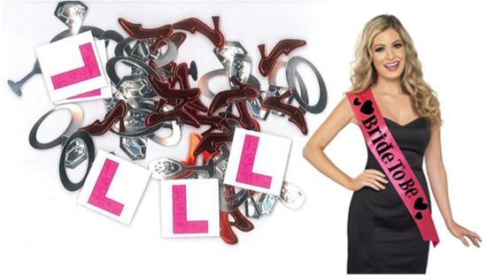 hen party accessories sash decorations