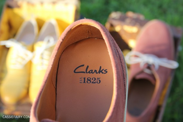his and hers shoes mustard and rust from clarks summer sale 2015-15