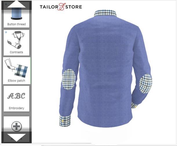 tailor store shirt designer custom made mens