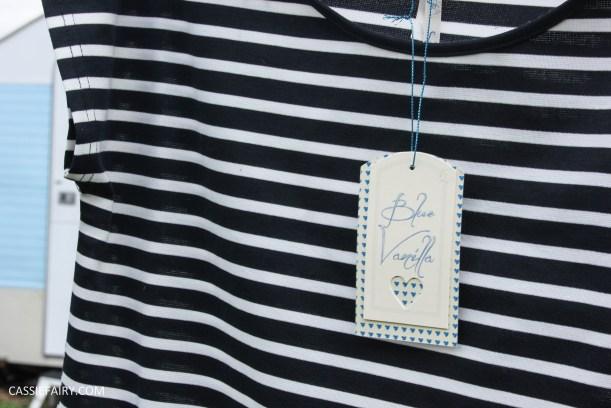 black and white stripe dress blue vanilla-5