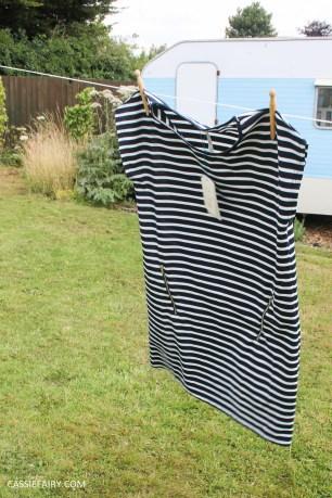 black and white stripe dress blue vanilla-8