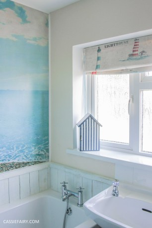 diy beach hut bathroom makeover project - low budget renovation-14