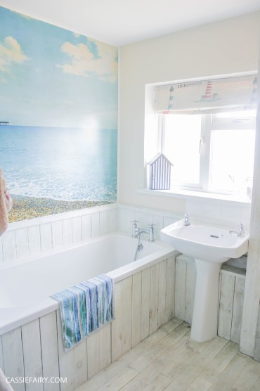 diy beach hut bathroom makeover project - low budget renovation-15