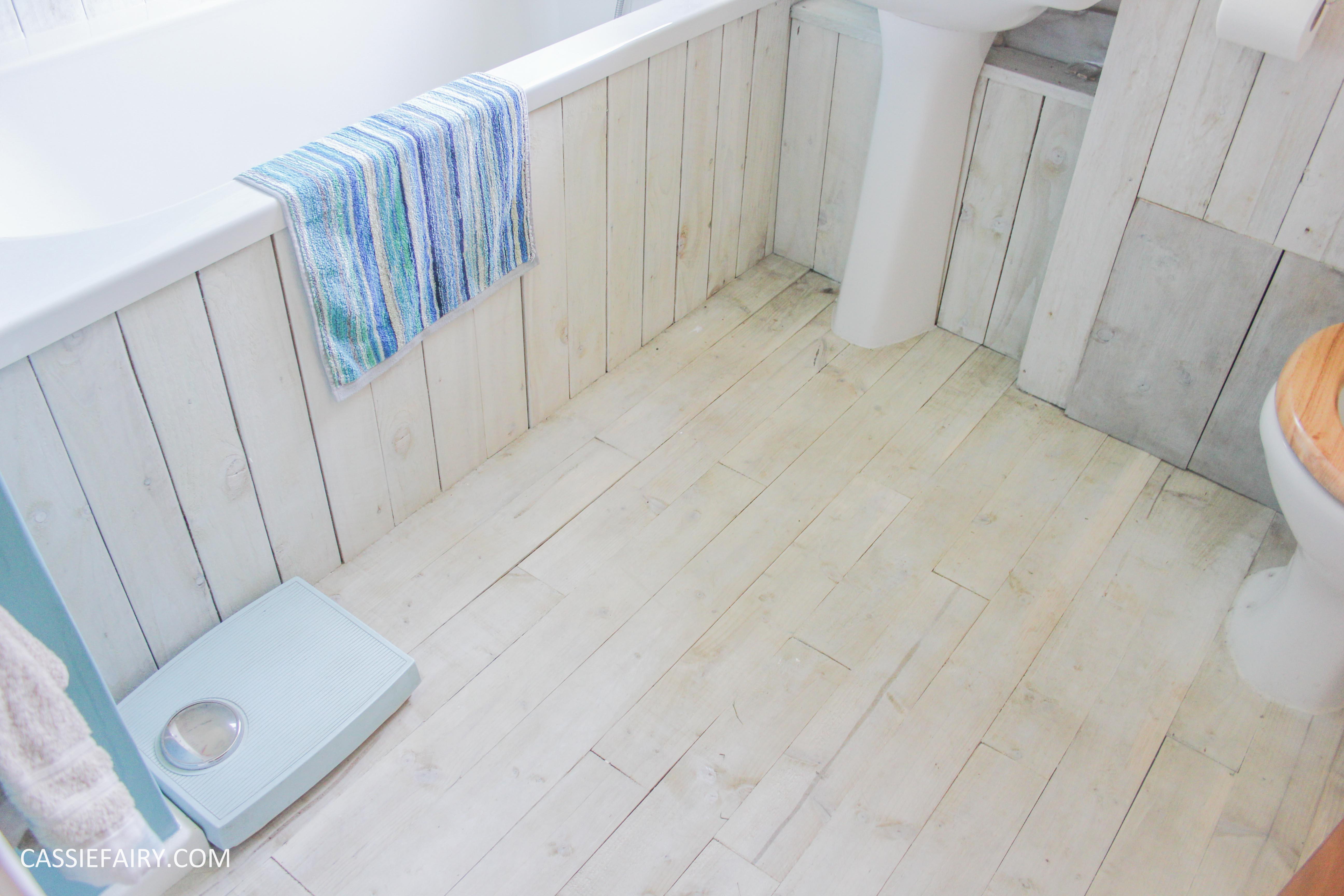 ... diy beach hut bathroom makeover project - low budget renovation-17
