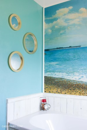 diy beach hut bathroom makeover project - low budget renovation-6