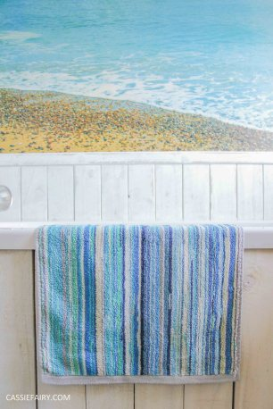 diy beach hut bathroom makeover project - low budget renovation-9