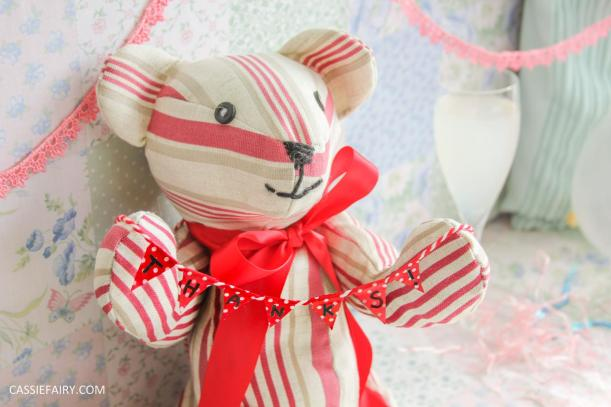 little red ted sewing project hillarys craft competition 2015