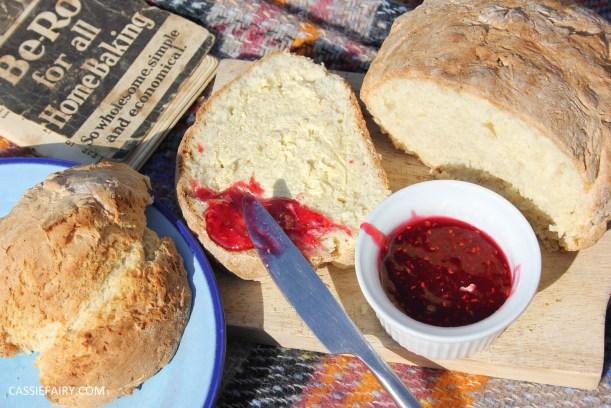retro milk bread loaf baking recipe-16