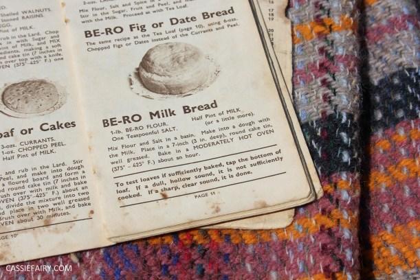 retro milk bread loaf baking recipe