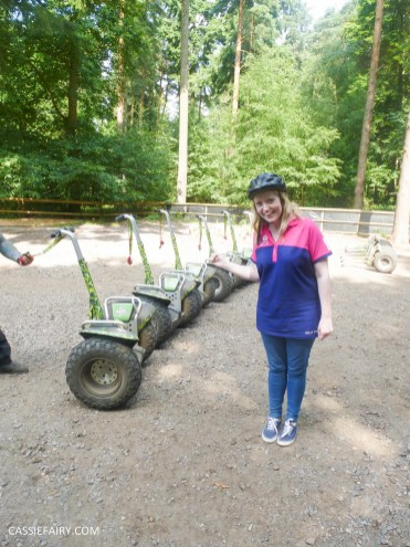 school summer holiday activity high lodge thetford forest segway adventure go ape review-14