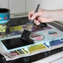DIY Using chalkboard paint