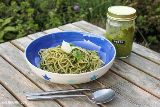pieday friday diy homemade pesto basic recipe garden produce veggie patch meal dinner-15