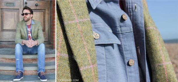 fashion for men - blue and green