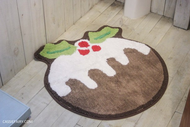 festive bathroom touches accessories towels