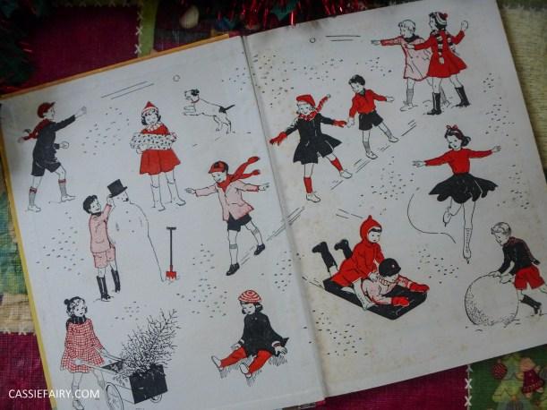 the christmas book vintage retro antique book g higham-2
