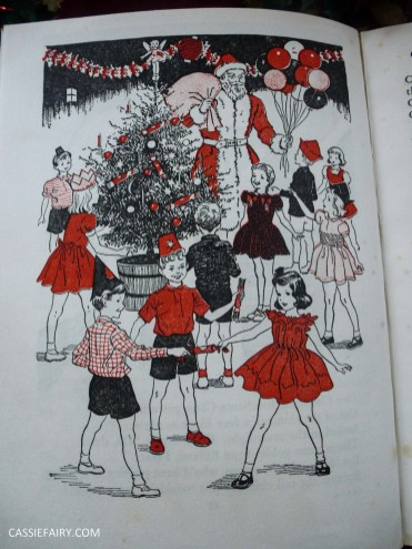 the christmas book vintage retro antique book g higham-6