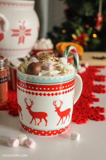 xmas custom made DIY christmas hot drinks cart project mulled wine hot chocolate spied latte-3