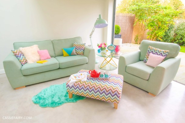 DFS candy colours interior design inspiration for spring summer 2016 dfs