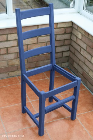 Furniture Makeover Project Rust-Oleum paint retro conservatory chair_-16