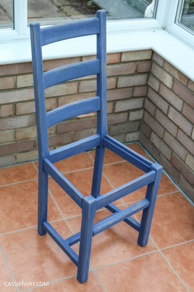 Furniture Makeover Project Rust-Oleum paint retro conservatory chair_-20
