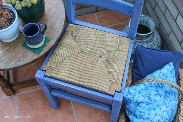 Furniture Makeover Project Rust-Oleum paint retro conservatory chair_-31