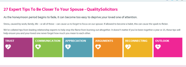 27 tips for being closer to your spouse