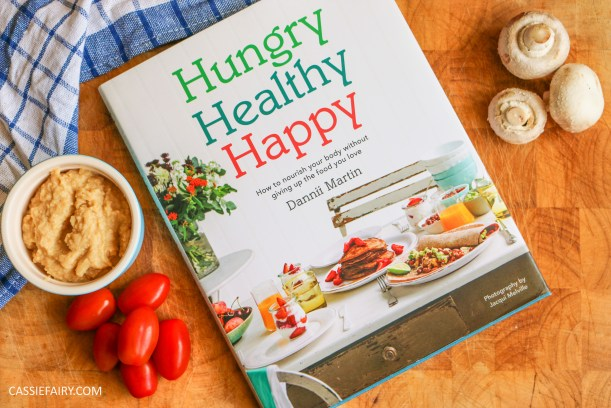 cook book recipe review hungry healthy happy dannii martin