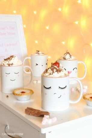 hot chocolate recipes for galentines day diy party gift idea for friends girlfriends
