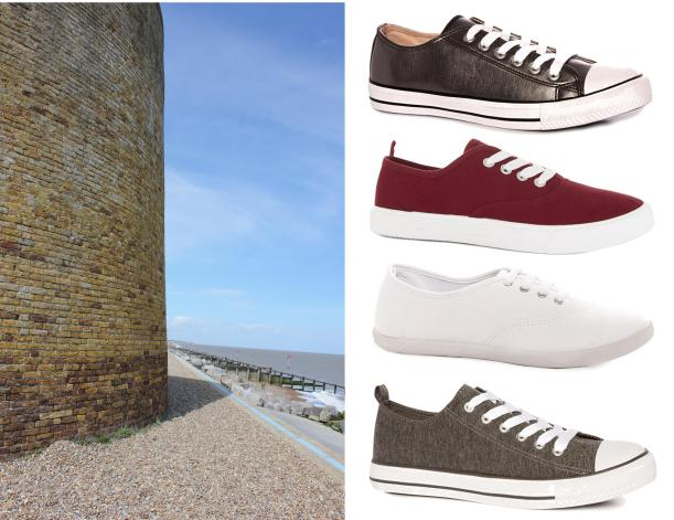 tuesday shoesday coastal walks trainers pumps casual shoes